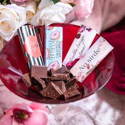 Mini šokolādes